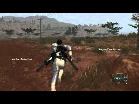 MGSV Ponytail blue eyes female voice and gameplay