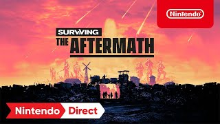 Surviving the Aftermath – Release Date Trailer – Nintendo Switch