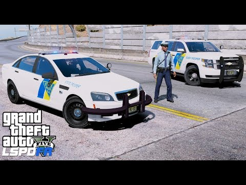 GTA 5 LSPDFR Police Mod #604 New Jersey State Police Live Stream