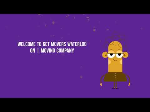 Get Movers - Moving Company in Waterloo ON