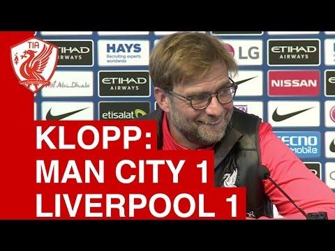 Man City 1-1 Liverpool: Jurgen Klopp Post-Match Press Conference