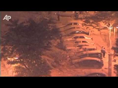 Raw Video: Brazil Building Collapse