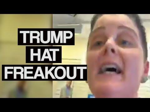 Trump Hat Freakout