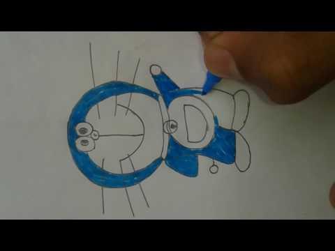 easy tricks to draw doramon....super