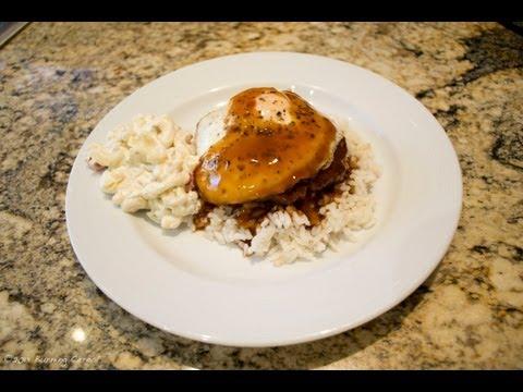 Hawaiian Loco Moco - Recipe
