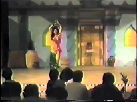 1980s Sultana of San Diego American Cabaret & Kamala snake dance