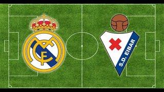Реал Мадрид Эйбар Real Madrid Eibar Испания Примера 29 й тур