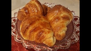 Французские круассаны рецепт. Croissants.