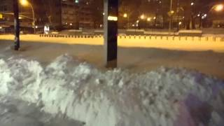NYC Snow Storm 2016 January 23.   blizzard