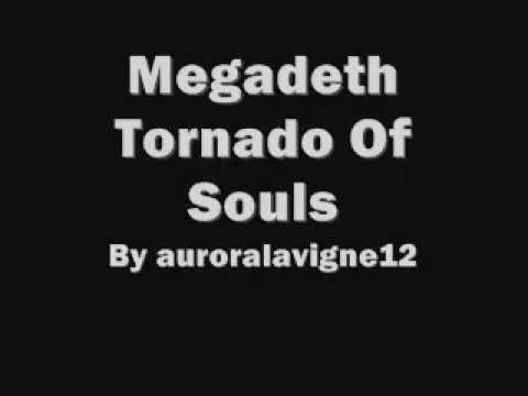 Megadeth Tornado Of Souls Lyrics