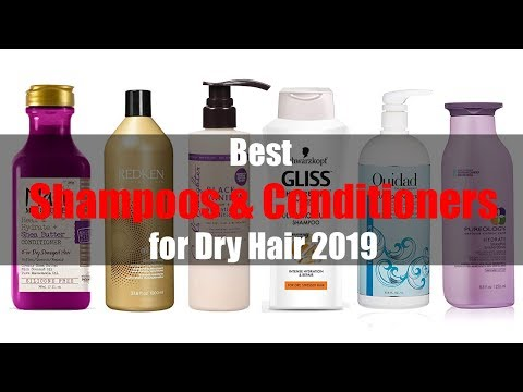 top-6-best-shampoos-&-conditioners-for-dry-hair-2019