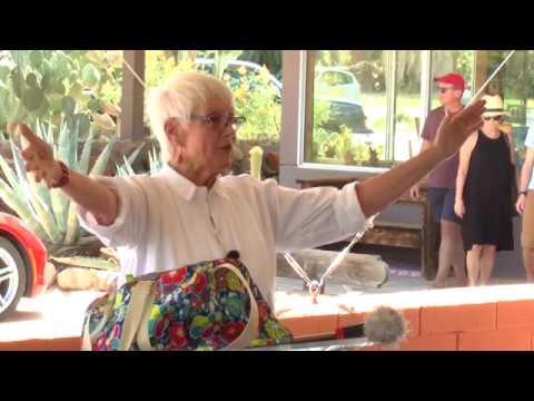 Naturalist Pat Flanagan receives the Minerva Hoyt Conservation Award