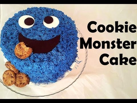 Cookie Monster Cake Topper Uk