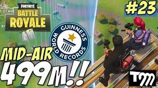 WORLD RECORD 499m MID AIR SNIPE!! - Fortnite: Battle Royale Kills of the Week Ultimate Sniper #23