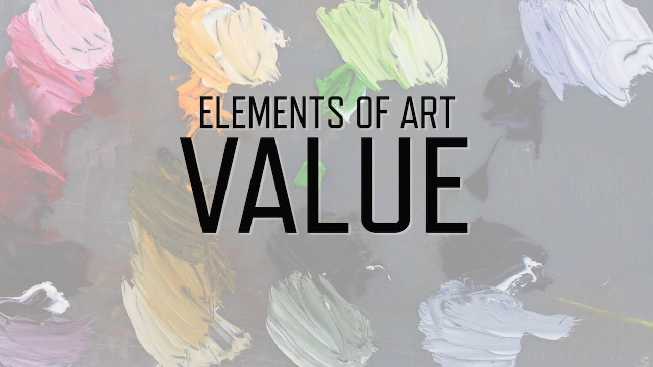 Form And Value In Art : Elements of art value kqed arts youtube