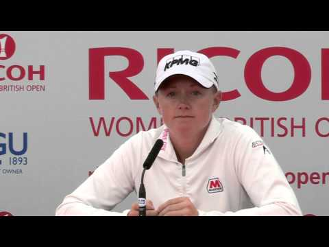Stacy Lewis' Pre-Tournament Interview at the 2013 Ricoh Women's British Open