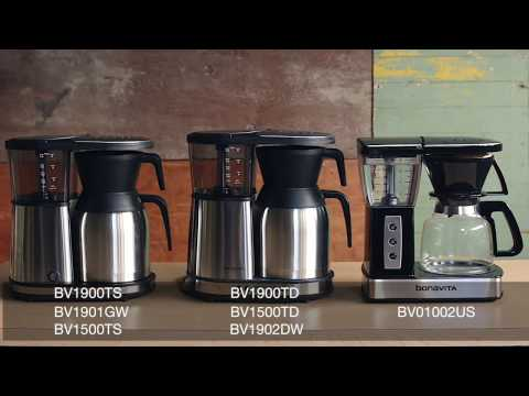 How to use the pre-infusion mode on your Bonavita® brewer