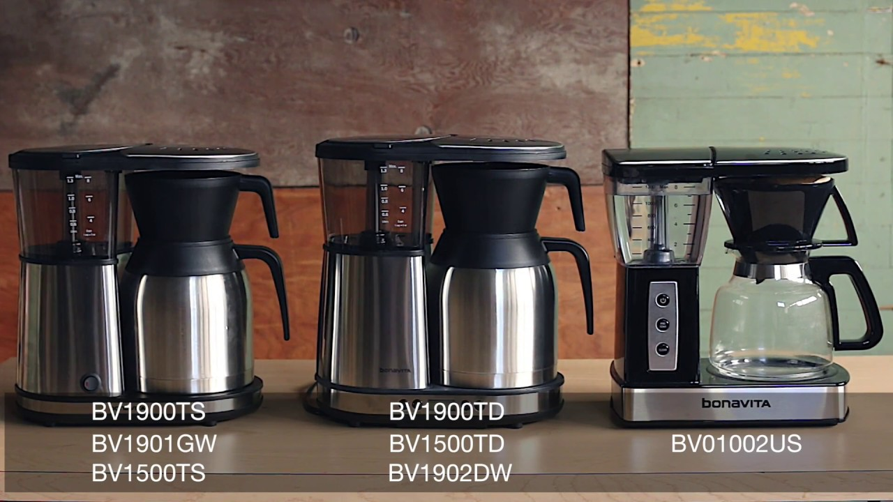 Bonavita Coffee Maker Stopped Working : How to use the pre-infusion mode on your Bonavita brewer - YouTube