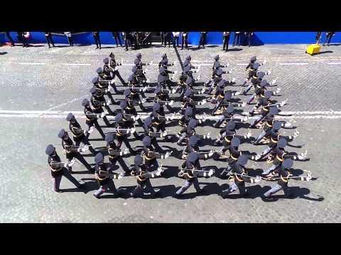 Parata Militare Festa della Repubblica - Commissari Polizia
