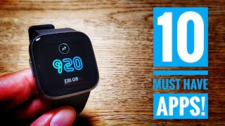 10 must have apps for Fitbit Versa 2!