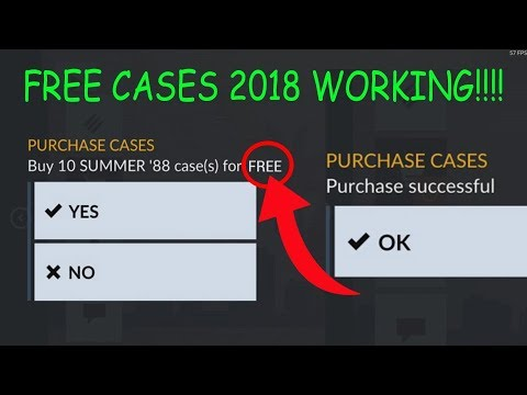 how to get free critical ops cases!!!! crazy glitch 2018 working!!! Tutorial coming soon lmao