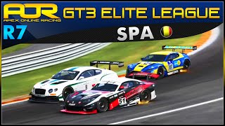 project cars   aor gt3 elite league broadcast s4 round 7 spa