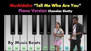 Bigg Boss Chandan Shetty new ROMANTIC song on Shruti | Mucchidalare |Tell me who are you to me |