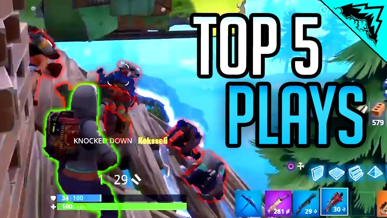 IN THE CLUTCH - Top 5 Fortnite Plays (Bonus #78)