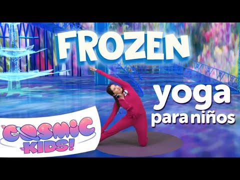 Frozen Yoga Para Niños En Español   Una Aventura De Cosmic Kids!