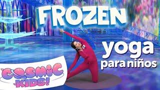 Frozen Yoga Para Niños en Español | Una Aventura de Cosmic Kids!