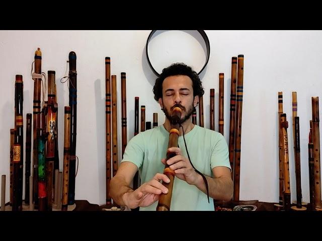 Flûte Native - NAF - Basse Chamanique B 432