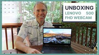 UNBOXING Lenovo 500 FHD Webcam