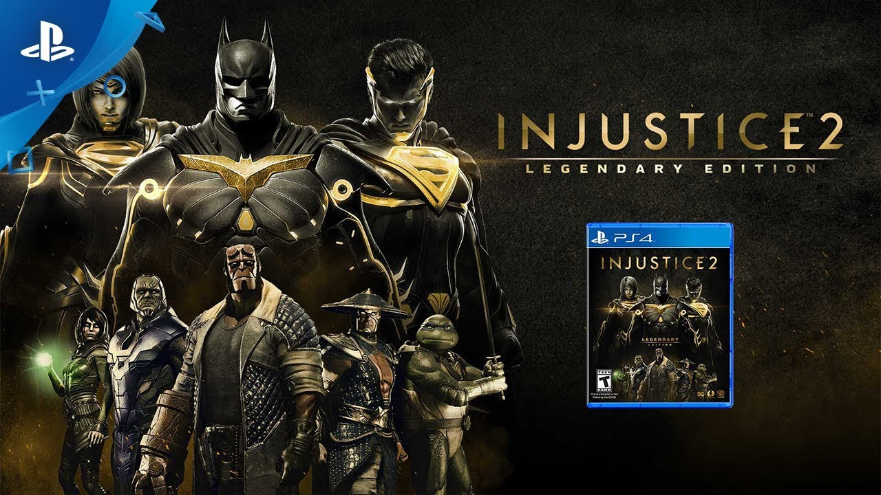 Injustice 2: Legendary Edition - Launch Trailer | PS4