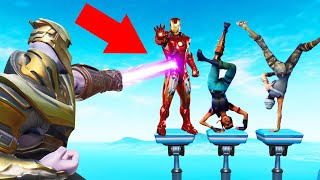 THANOS Says KILL The AVENGERS! (Fortnite)