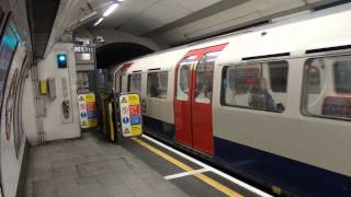 ロンドン地下鉄ベーカールー線1972形 オックスフォード·サーカス駅発車
