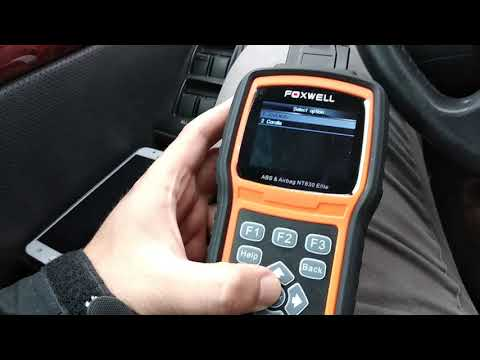 Auto Scanner NT600 ODBii Engine, SRS, & ABS Fault Code