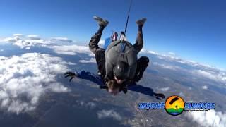 Kimberly Beck  Tandem Skydives At Skydive Elsinore
