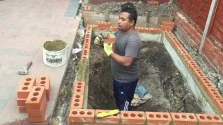 How to build a Koi pond part 1