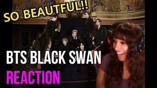 They Are MAJESTIC!! | BTS (방탄소년단) 'Black Swan' Official MV R…