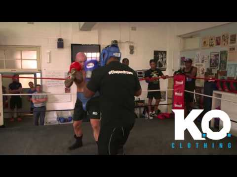 Lucas Browne stuns sparring partner ahead of Ruslan Chagaev fight March 5th