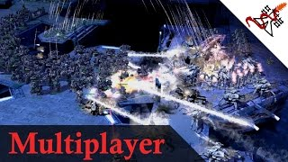 Supreme Commander 2 - 2v2v2v2 Hundreds Experimental Units Battles | Multiplayer Gameplay