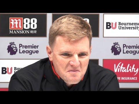 Bournemouth 2-1 Arsenal - Eddie Howe Post Match Press Conference - Premier League #BOUARS