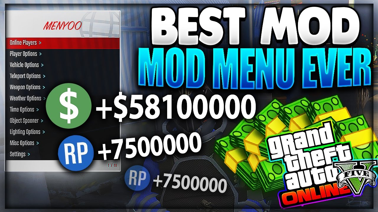 GTA 5 PC - [UPDATED] BEST WORKING MOD MENU FOR GTA 5! HOW TO INSTALL +  DOWNLOAD MENYOO