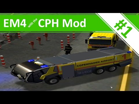Welcome to Copenhagen Airport! - Ep.1 - Emergency 4 with the CPH Mod