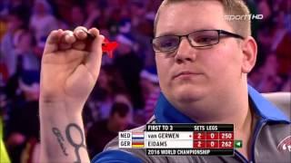 Michael van Gerwen vs Rene Eidams 1st Round [Sport1]