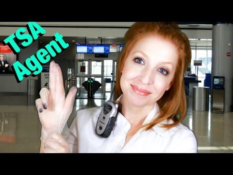 ASMR TSA Agent Role Play