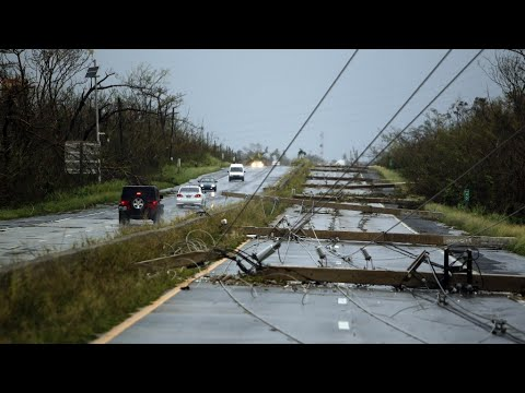 فرانس 24:Hurricane Maria: Whole of Puerto Rico without power as storm devastates island