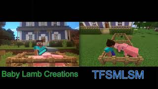 Bear in the Big Blue House: Minecraft Comparison (BLC vs. TFSMLSM)