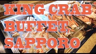 Nanda King Crab Dinner Buffet   Sapporo, Japan