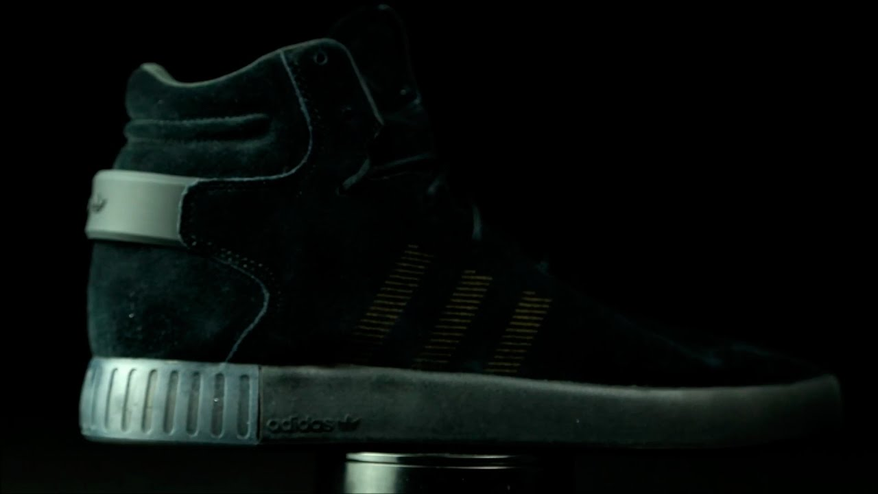 buy popular 8542f 06468 Adidas Originals Tubular Invader total black.